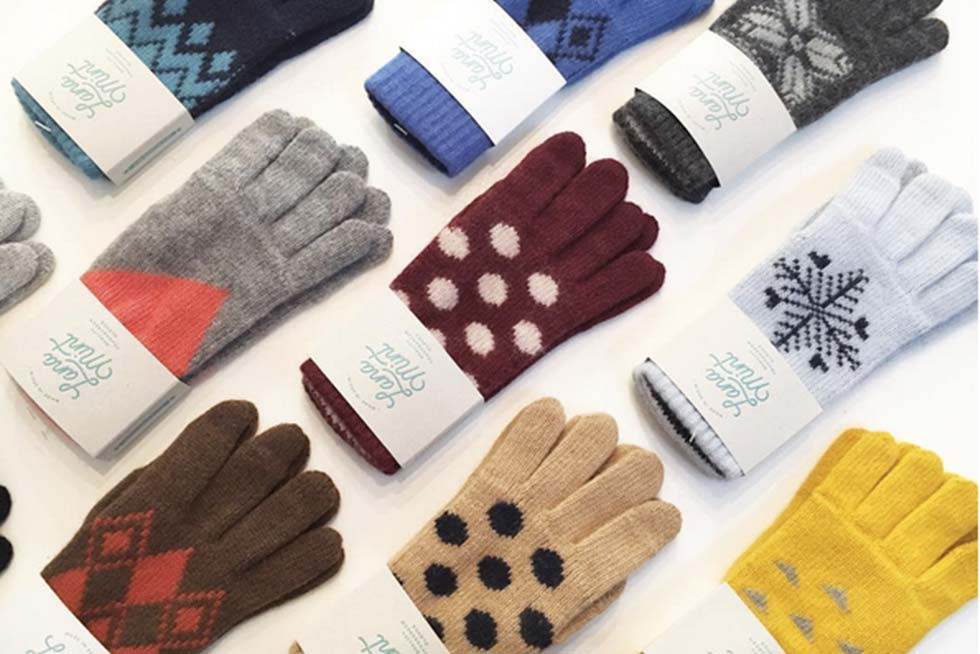 Lana Mint guantes