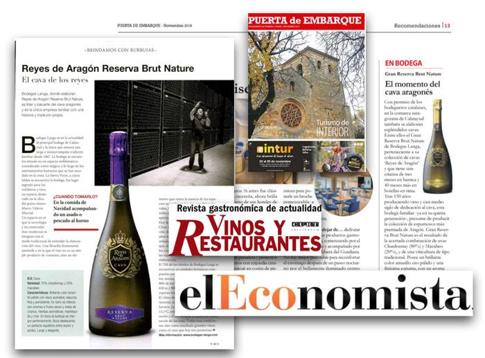 Cavas Reyes Aragón Bodegas Langa